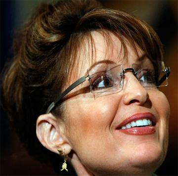 sarah palin glasses frames. seen here worn by Sarah Palin